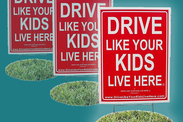 Drive Like Your Kids Live Here August 2017